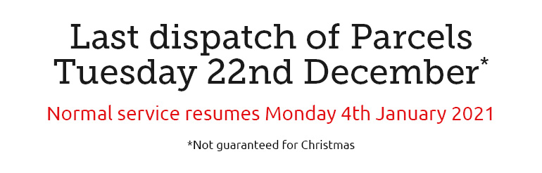 Christmas dispatch information
