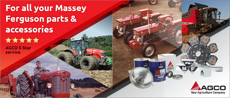 For all your Massey Ferguson Parts & accessories